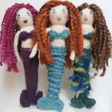 Knitted Mermaids