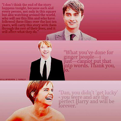 Hogwarts Alumni Harry Potter Casts Quotes