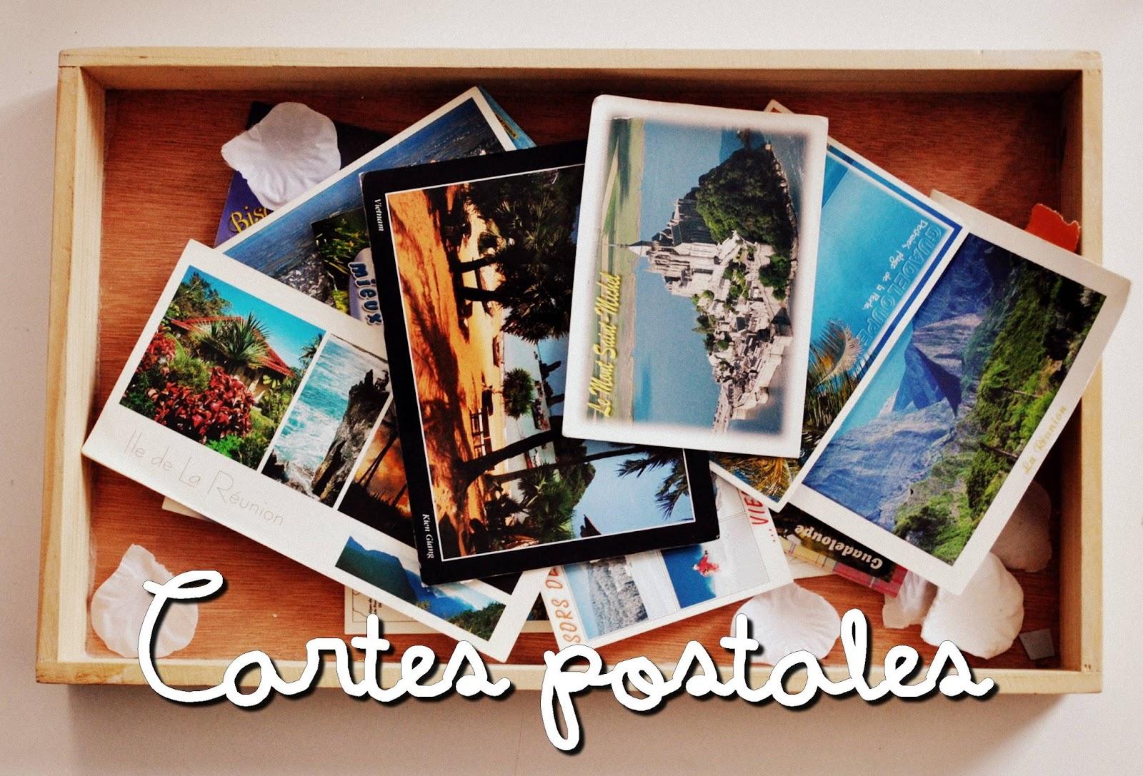 carte postales tuto postcard