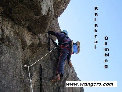 VRangers Kalakrai climbing expedition on 9th Dec ngt & 10th Dec 2017