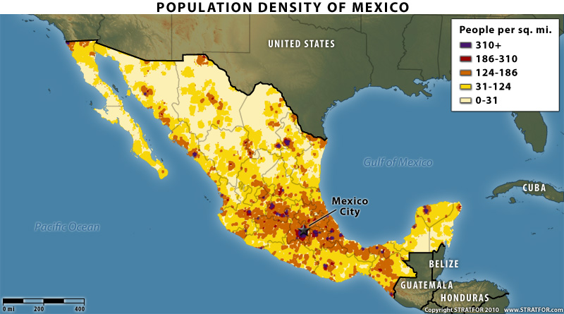 Mexico S War By The Numbers Maps H E