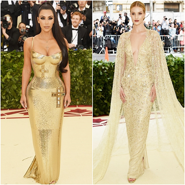 Os looks do MET Gala 2018 kim kardashian