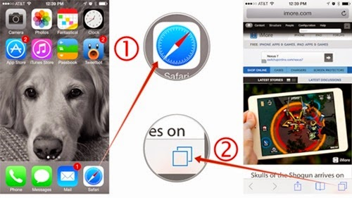 How to Close All Tabs on Safari in iOS 7