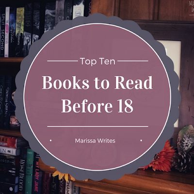 Top Ten Tuesday - Must read books before you turn 18 on Reading List