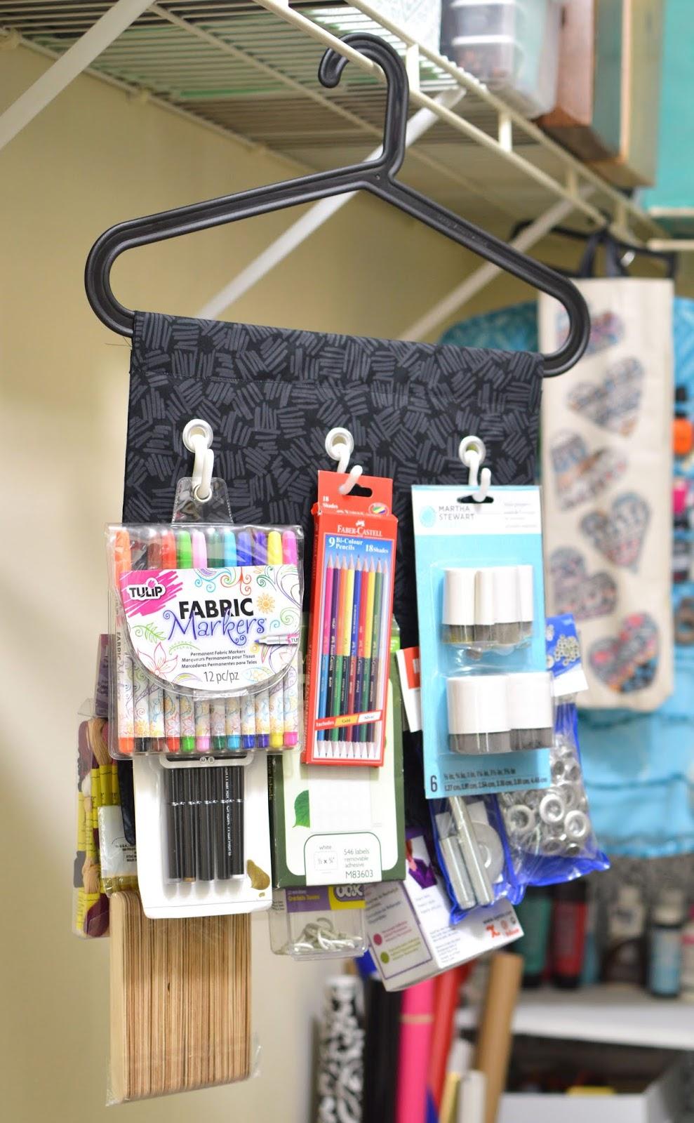 Vikalpah How I Organized My Craft Supplies In A Shared