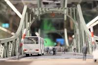 Spionagemuseum Berlin, Modell der Glienicker Brücke