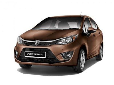 The All New 2016 Proton Persona  front angle HD Picture