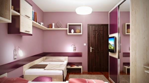 Dormitorios para chicas adolescentes dormitorios colores for Jugendzimmer colors