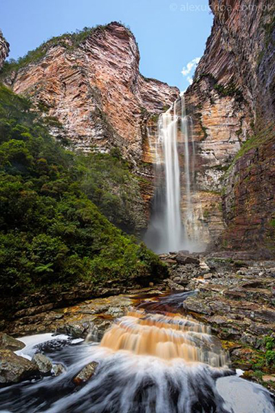 Cachoeira Encantada – Parque Nacional da Chapada Diamantina. (Foto: Alex Uchoa)