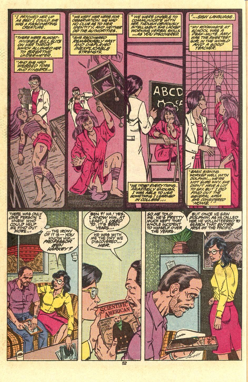 Read online Secret Origins (1986) comic -  Issue #50 - 55