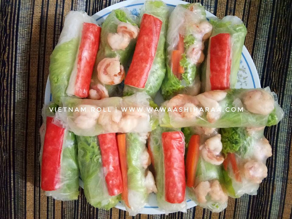Mrs Wawa Ashihara Cara Buat Vietnam Roll Sos Dengan Mudah