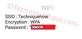 saved WiFi Password on Your Phone Android_displayed