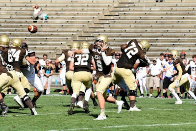 In Offensive Showcase, Shaf Throws For 461 Yards As Lehigh Defeats Princeton, 42-28