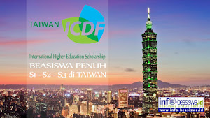 Beasiswa Penuh di Taiwan: International Higher Education Scholarship