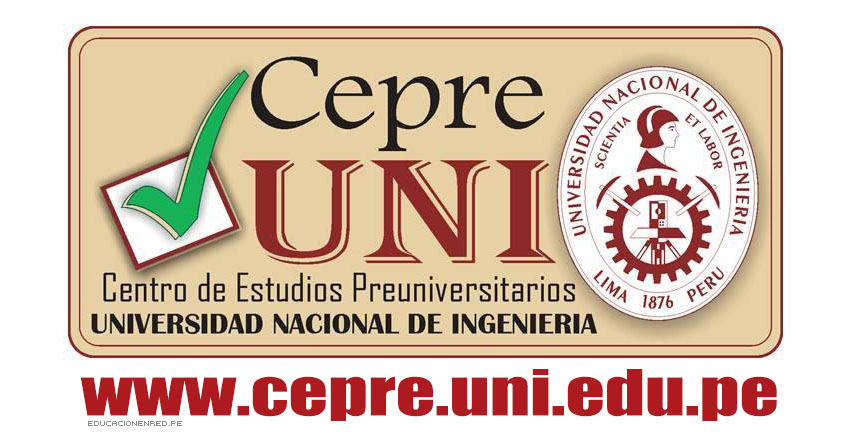 Resultados CEPRE-UNI 2019-1 (30 Septiembre) 2da Prueba Calificada Ciclo Preuniversitario - Universidad Nacional de Ingeniería - www.cepre.uni.pe | www.uni.edu.pe