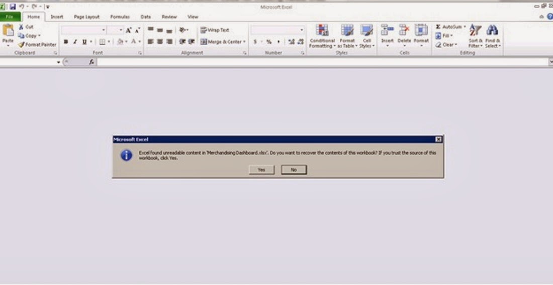 Fix to SSRS Export to Excel error | Anexinet %