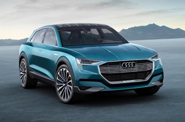 آودي تُخطط لإطلاق ثلاث سيارات كهربائية بحلول عام 2020