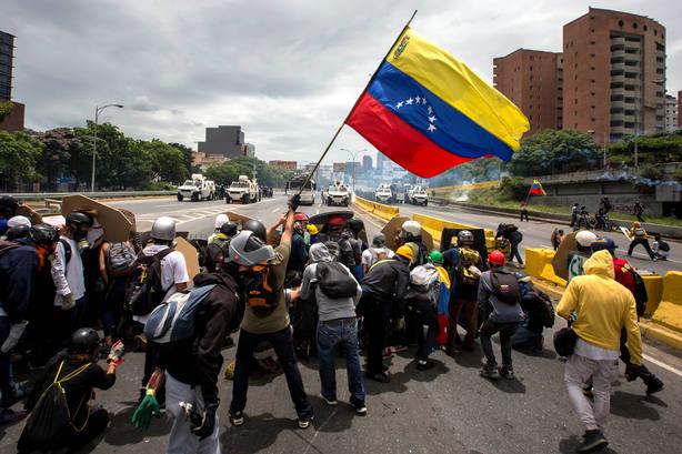2017 fue el año del caos y la violencia para el pueblo venezolano