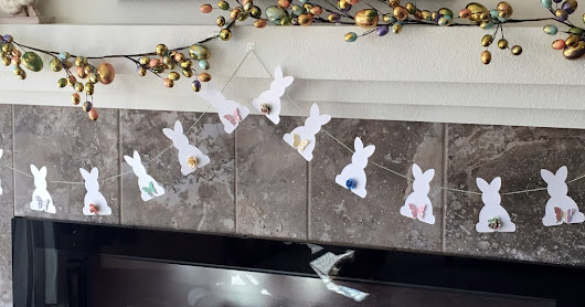 This Bittersweet Life: Simple DIY Easter Bunny Banner