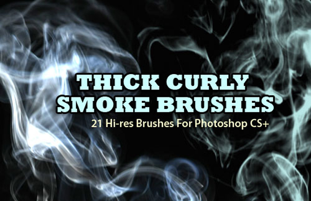 21 Thick Smoke Background Brushes