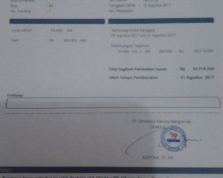 Addendum Surat Perjanjian BP Batam dan PT.DKB Patut Dipertanyak