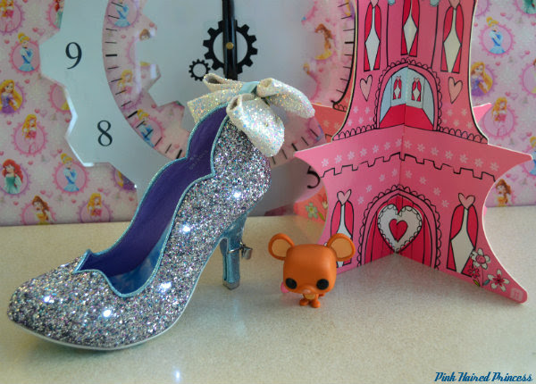 irregular choice sparkling slipper flashing lights