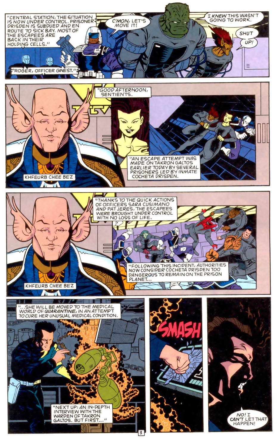 Legion of Super-Heroes (1989) 51 Page 3