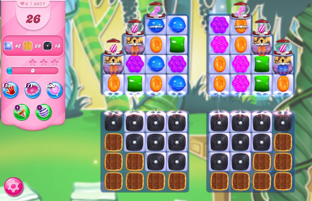 Candy Crush Saga level 6377