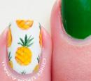 http://onceuponnails.blogspot.com/2015/06/pineapple-accent.html