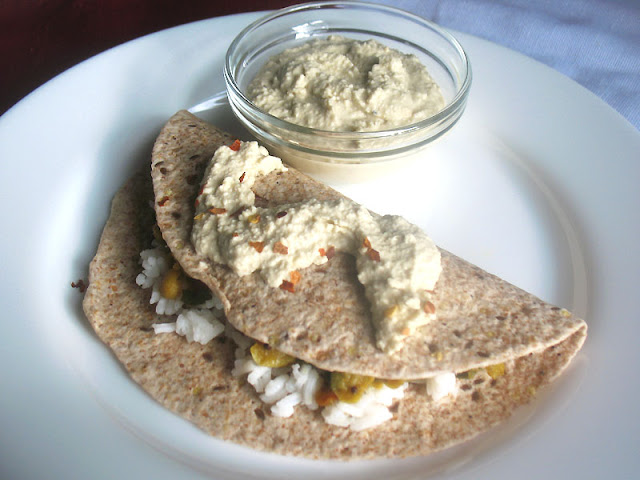 Vegan Cashew Cream with Wrap