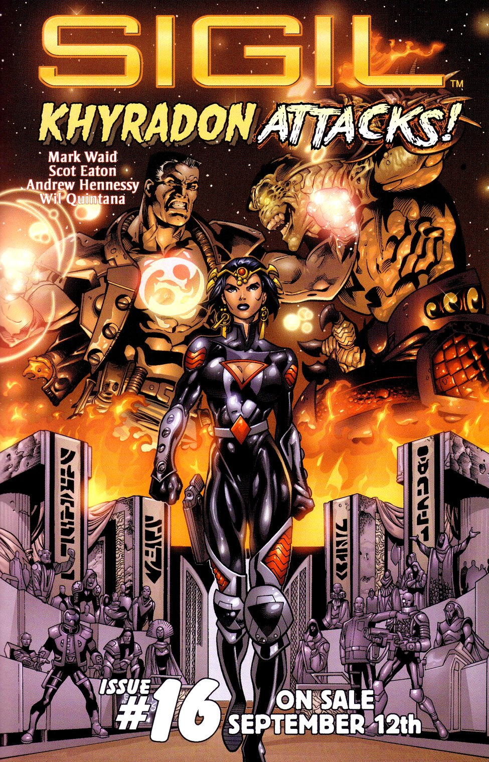 Read online Sigil (2000) comic -  Issue #15 - 26