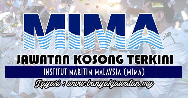 Jawatan Kosong 2017 di Institut Maritim Malaysia (MIMA)