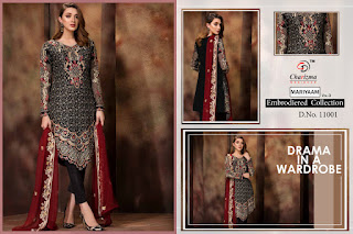 Charizma mariyaam vol 3 Embroidered Collection pakistani suits wholesaler