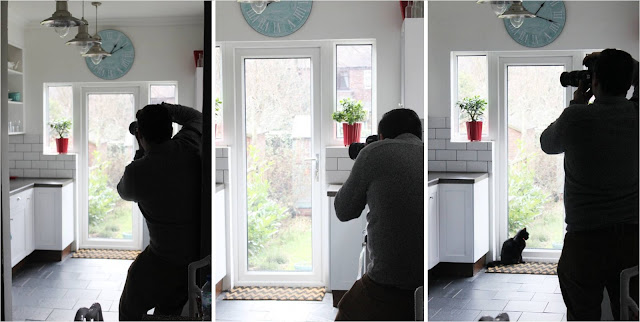 A little behind the scenes look at a 25 Beautiful Homes photo shoot in my home