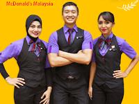 Jawatan Kosong McDonald's Malaysia 31 Mac 2018