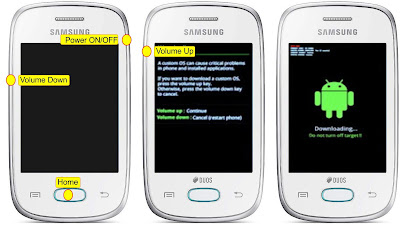 Downlaod mode Samsung Galaxy Pocket Neo S5312