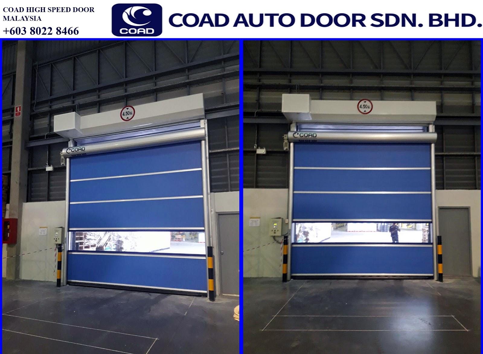 Coad High Speed Door Malaysia Steel Roller Shutter Doors Shutter