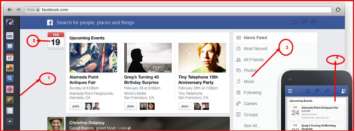 cara merubah tampilan facebook terbaru