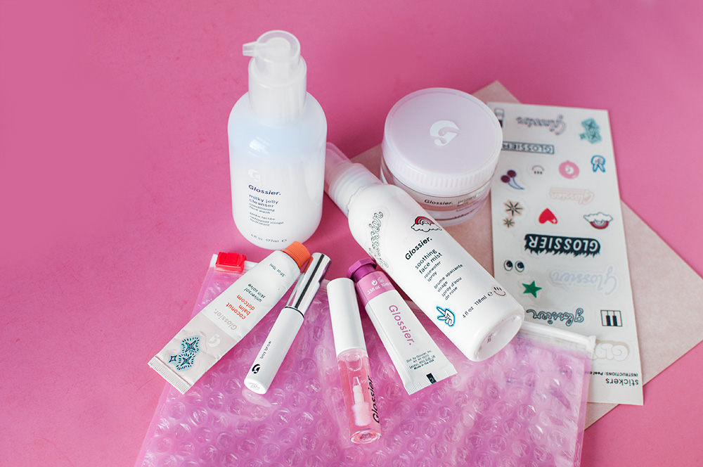 glossier review, glossier overview, glossier one brand review, glossier worth the hype