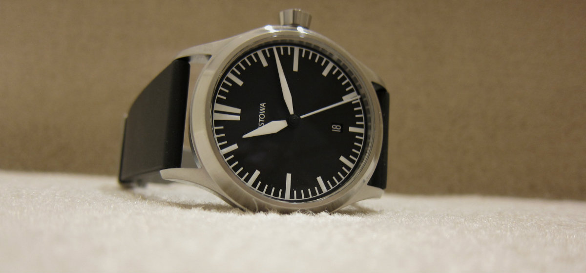 66f115160d5 The Stowa Flieger TO2 is a watch that I initially did not intend to get.  One of the main reason behind that decision is the TO2 is essentially the  same ...