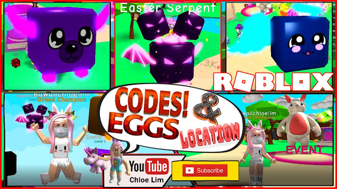 Roblox Gameplay - Bubble Gum Simulator! All 10 Easter Egg