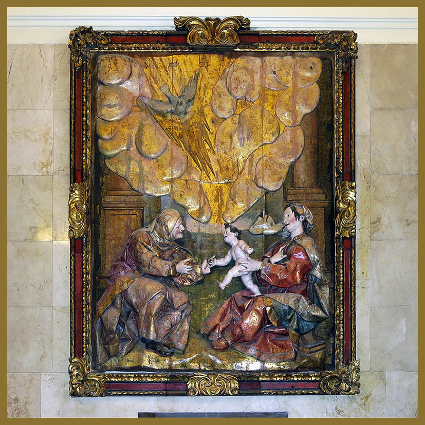 domvs pvcelae theatrum santa ana la virgen y el ni o amabilidad poco frecuente en el barroco. Black Bedroom Furniture Sets. Home Design Ideas