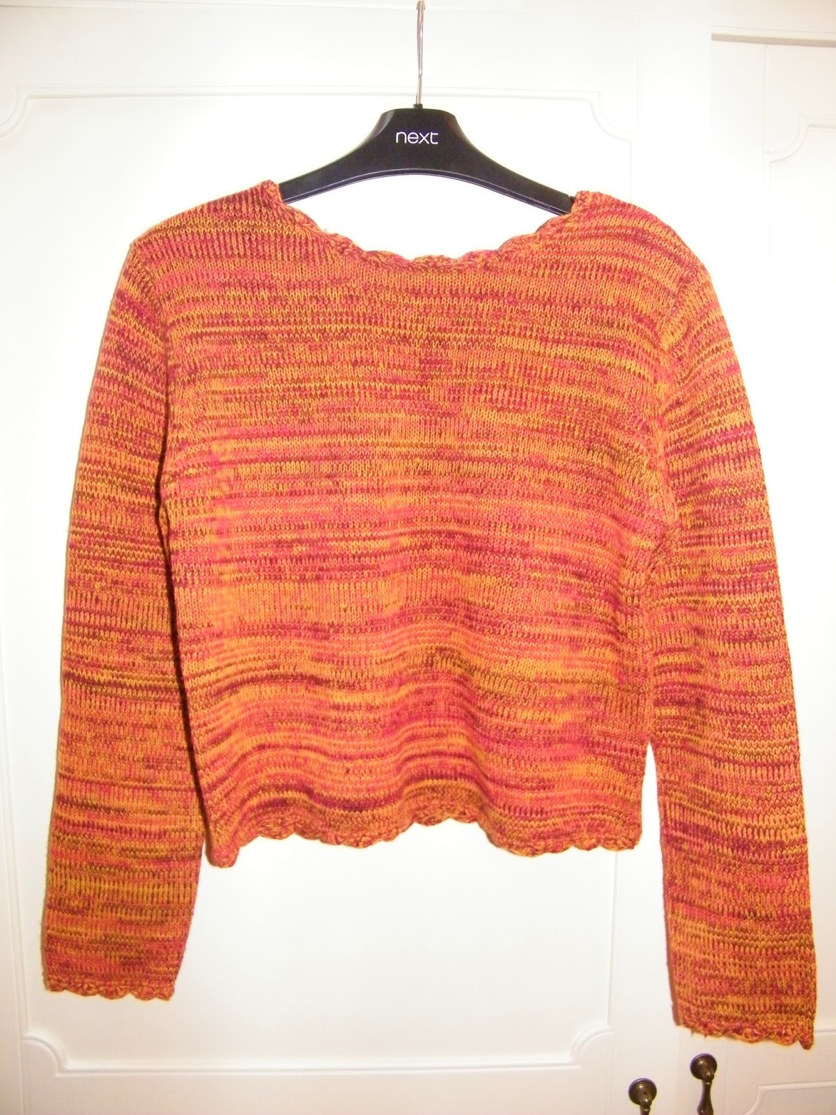 MinkPink Cropped Orange Jumper