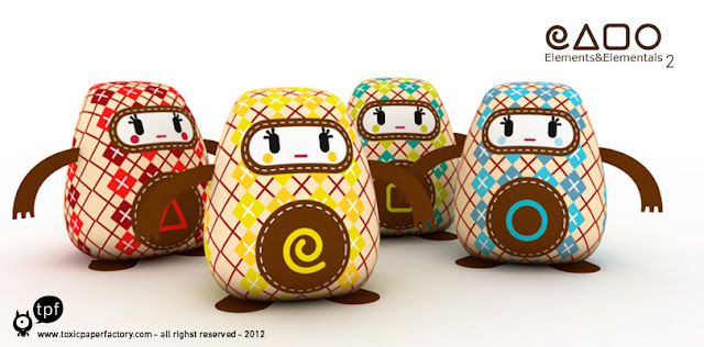 toxic paper factory- papertoy