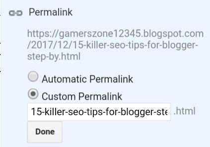 blogger, permalink