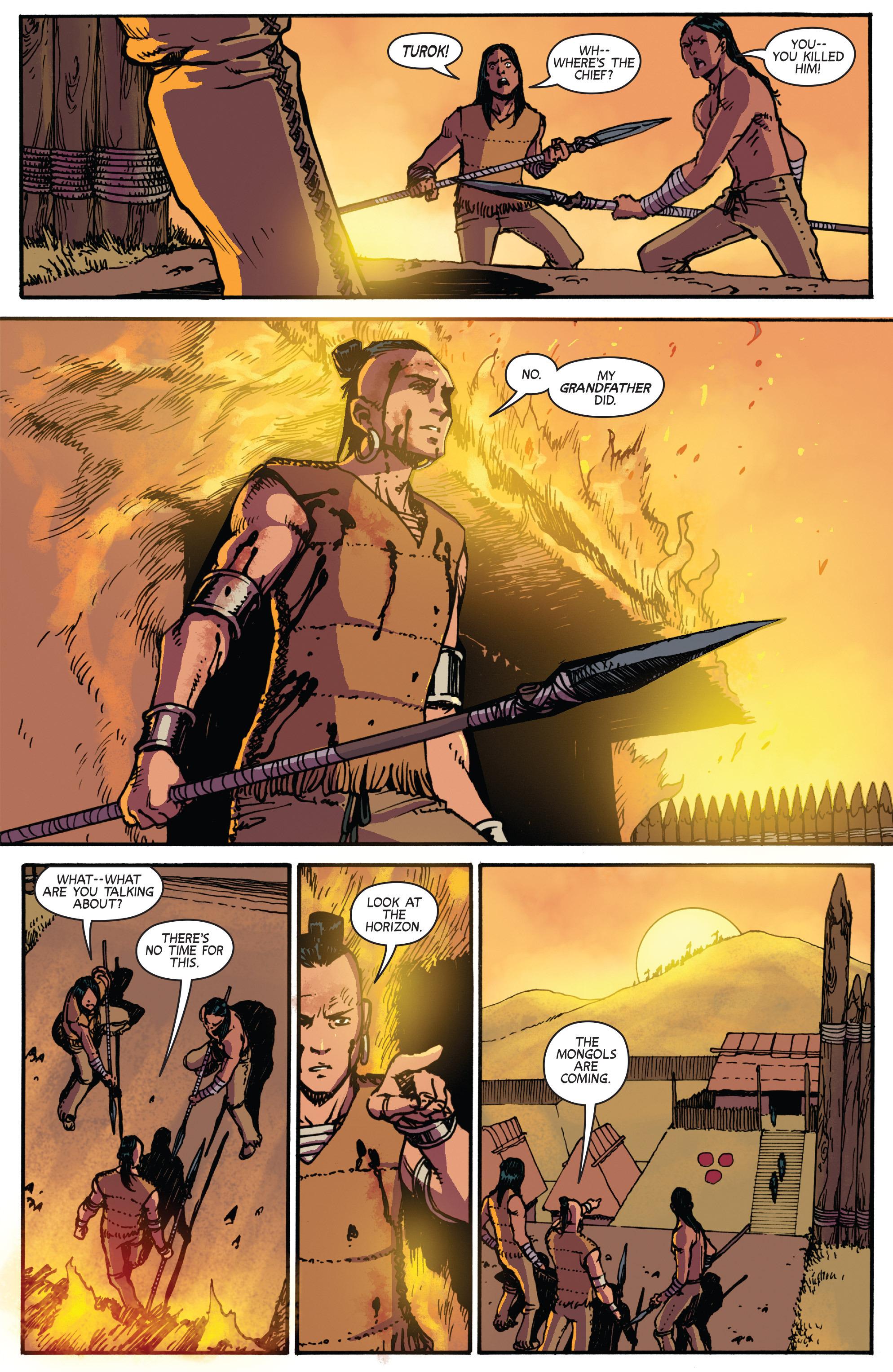 Read online Turok: Dinosaur Hunter (2014) comic -  Issue # _TPB 2 - 75