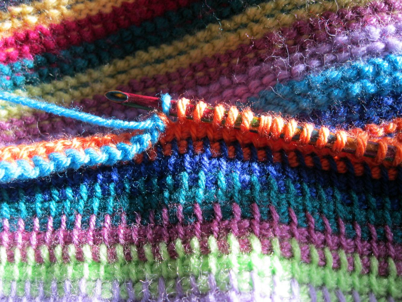LucyRavenscar - Crochet Creatures: Multicoloured Tunisian ...