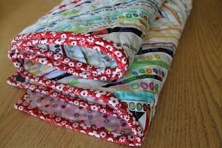 Sweetwater fabric binding