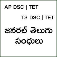 SANDHULU - GENERAL TELUGU - telugu grammar