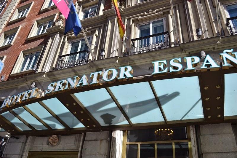 Gran Via, Madrid, Espagne, Hotel Senator